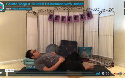 Protected: Gentle Yoga & Guided Relaxation with Jonah